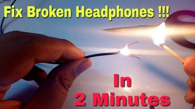How To Fix Headphones Without Soldering Iron