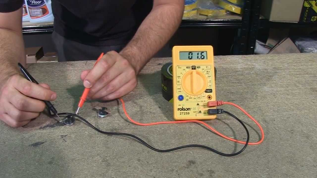 How To Test A Gas Furnace Pressure Switch With Multimeter youtube