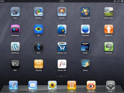 How iPad apps maintain via Social Networking